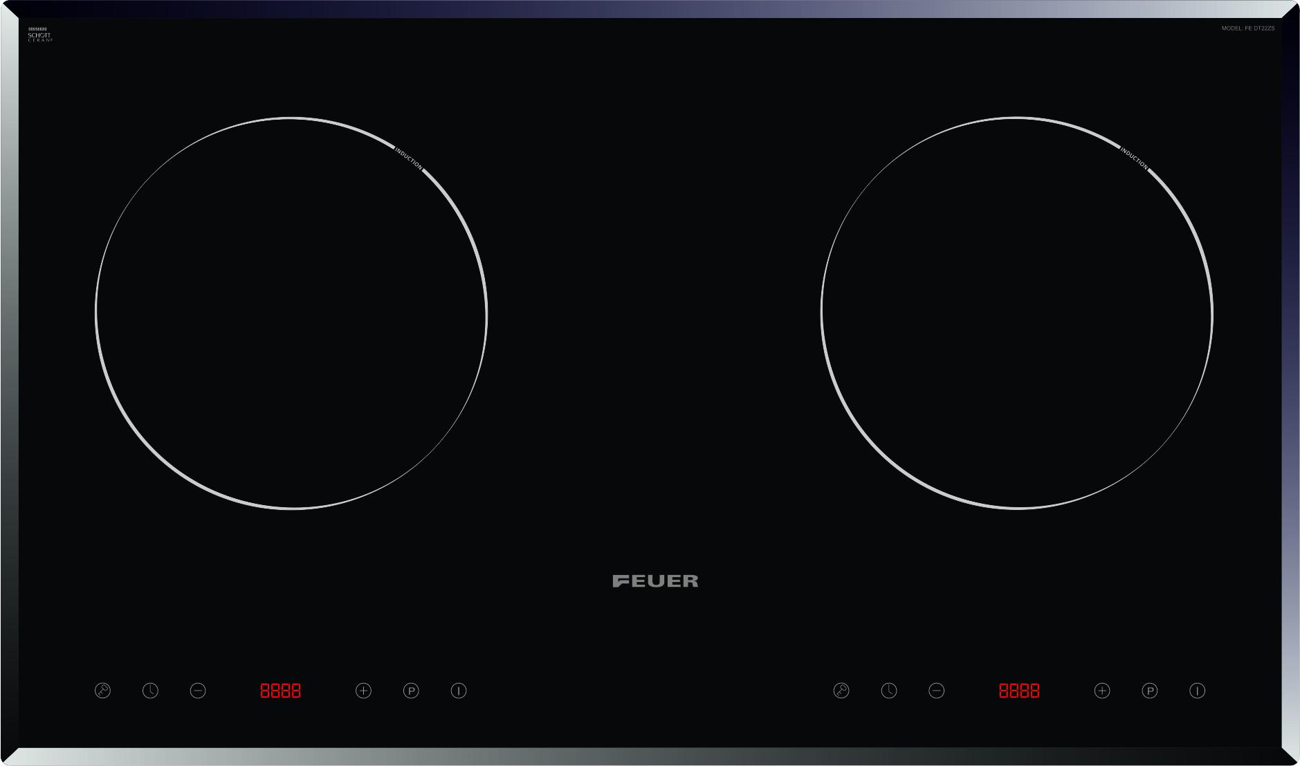 Bếp từ đôi Feuer Fe-DC22S